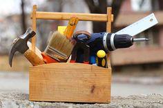 caixa ferramenta madeira